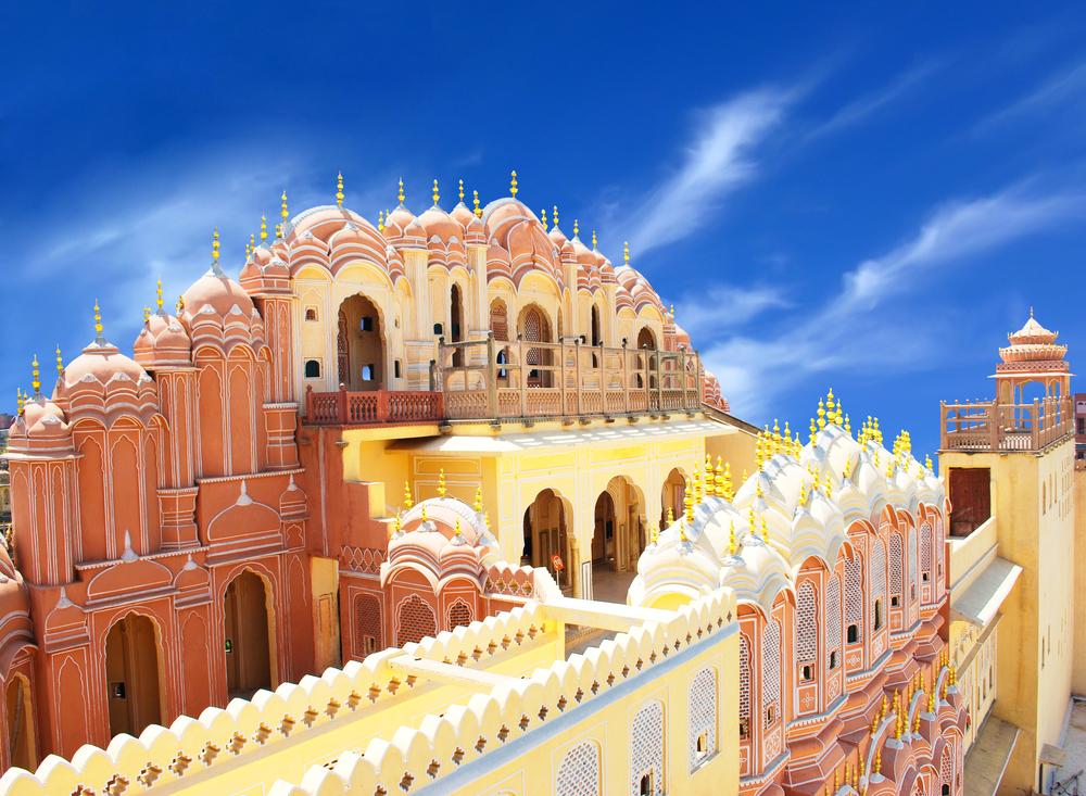 Hawa Mahal the Palace of Winds Jaipur Rajasthan India