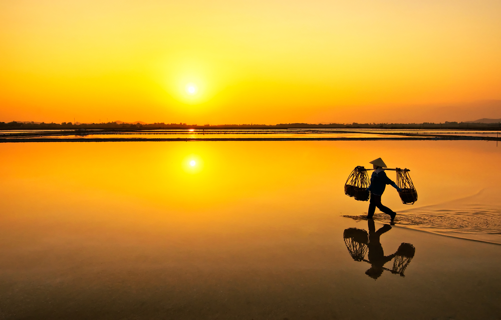 Hon Khoi salt field Nha Trang Vietnam 2