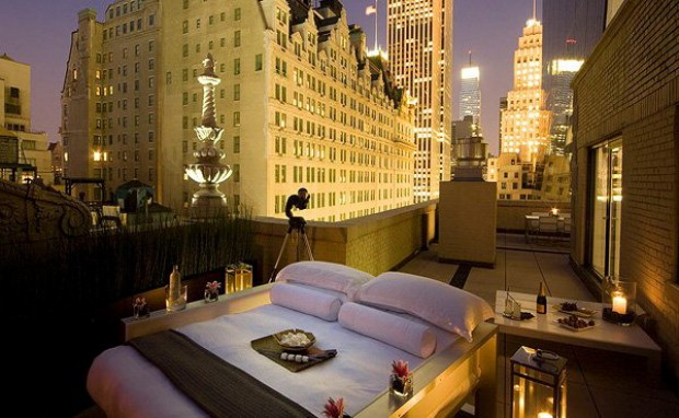 Hotel Aka New York penthouse suite 04