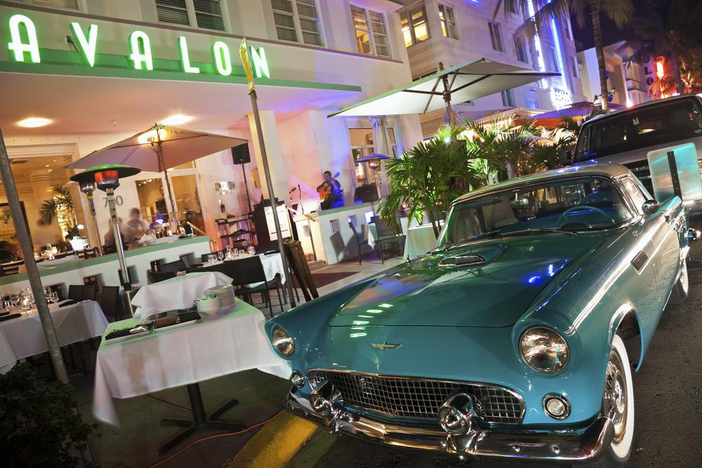 Hotel Avalon in Miami Beach Florida