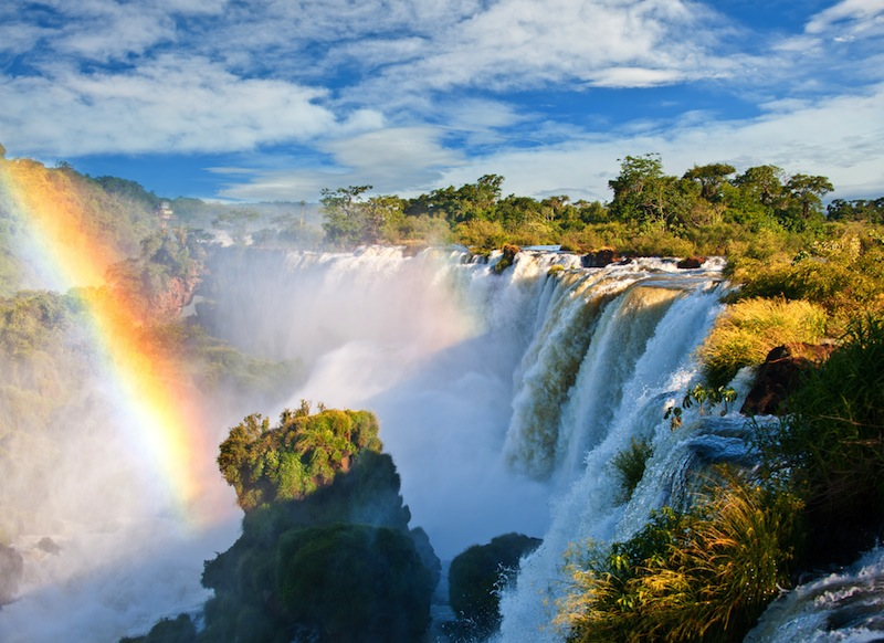 Iguazu falls one of the new seven wonders of nature