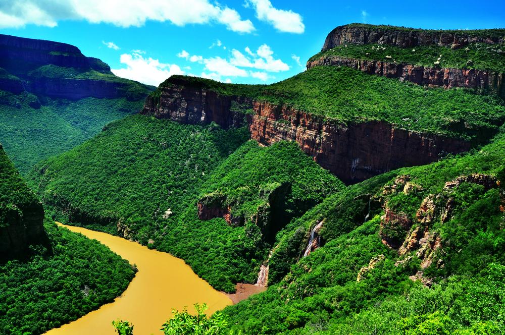 Il Blyde River Canyon è un canyon situato in Sudafrica nella provincia di Mpumalanga