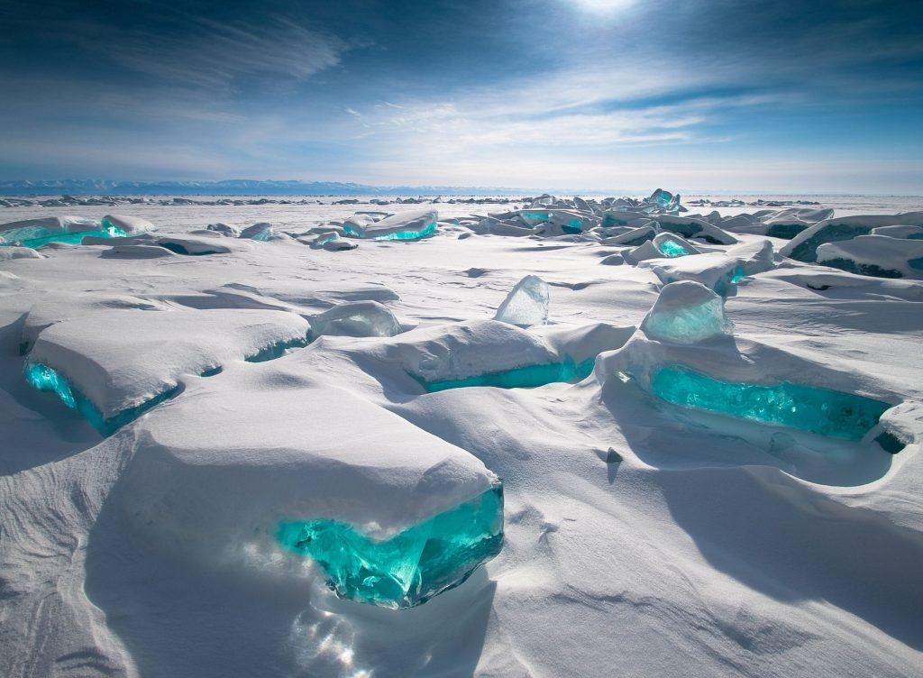 Il lago Bajkal è un lago della Siberia