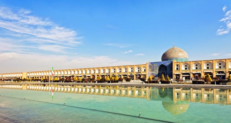 Imam SquareNaqsh e Jahan Square in Isfahan Iran