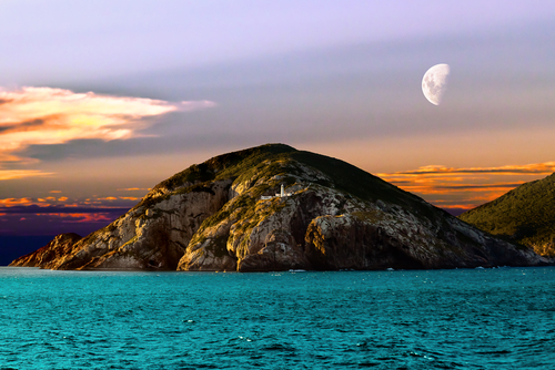 Island of Cabo Frio in the state of Rio De Janeiro Brazil