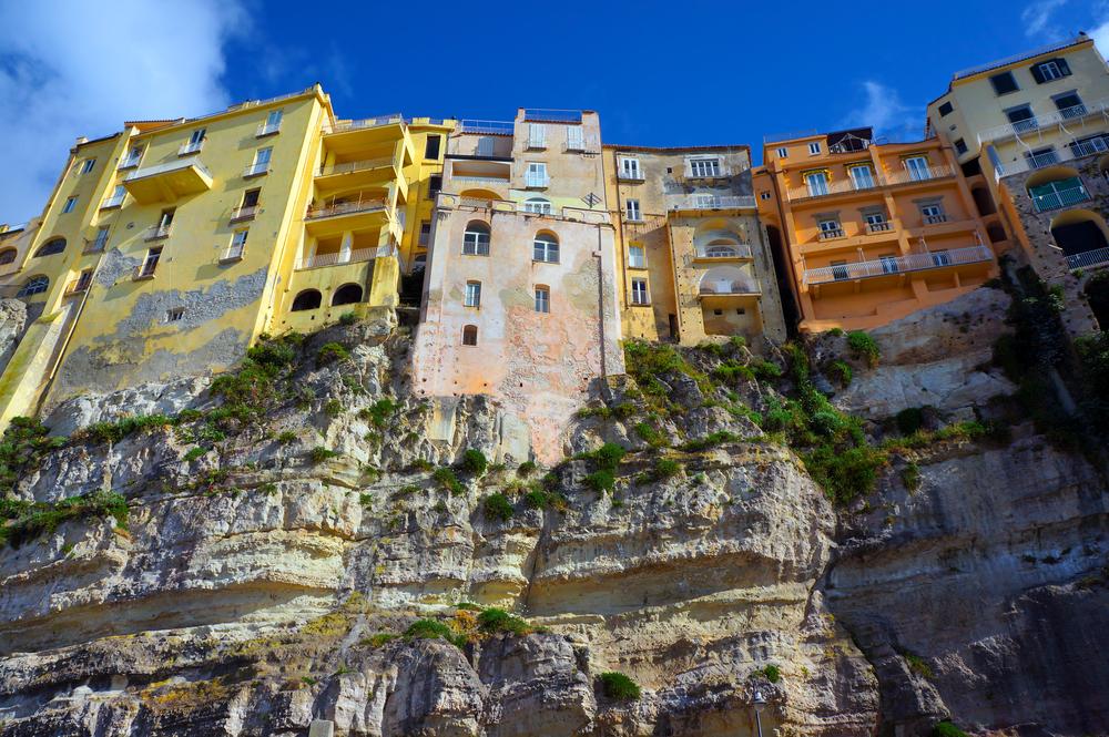 Italian city Tropea area Calabria