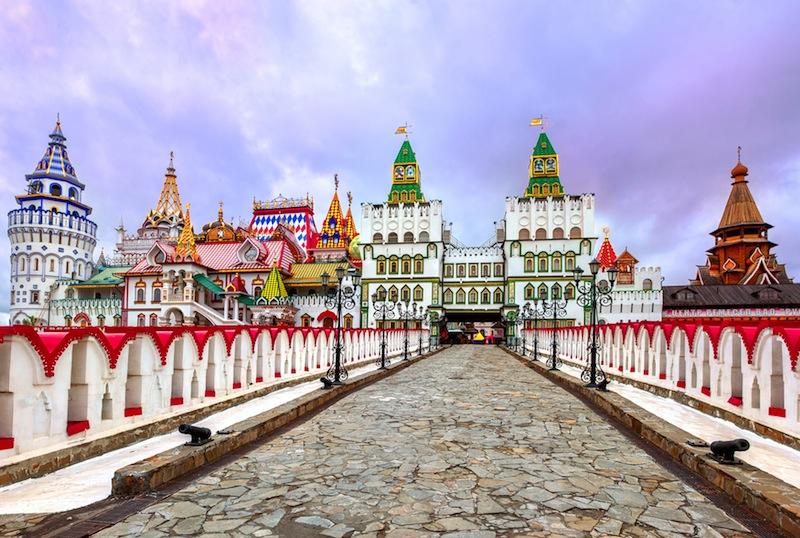 Izmailovsky Kremlin Moscow Russia