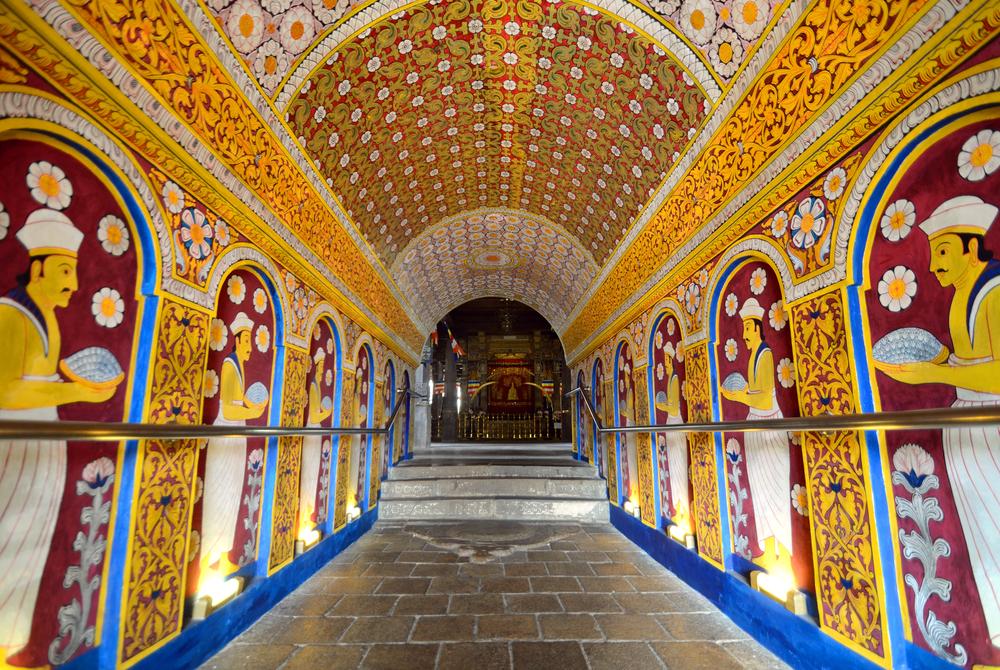 KANDY SRI LANKA MAY 21 Temple of the Tooth on May 21 2012 in Kandy Sri Lanka