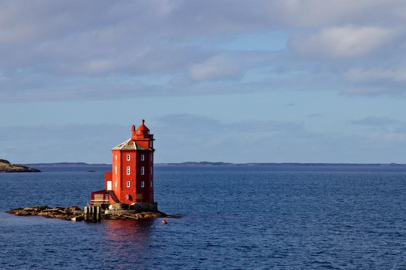 Kjeungskjaer Fyr Lighthouse Norway jpg