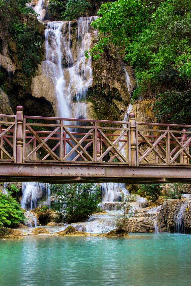 Kuang Si waterfall in Luang Prabang Lao 6