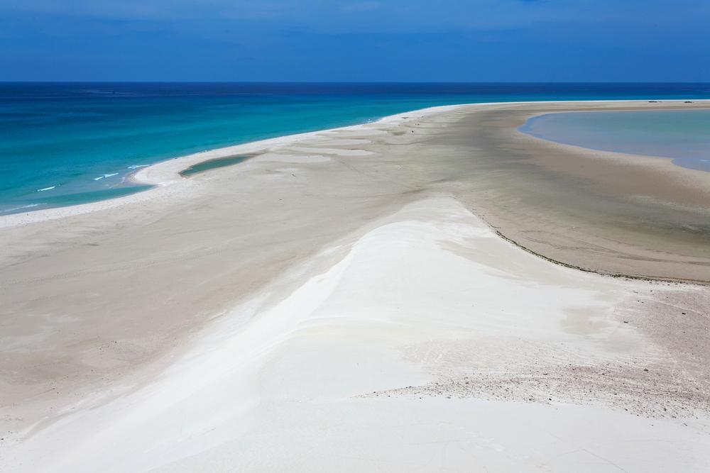 Lagoon Qulansiyah island Socotra Yemen