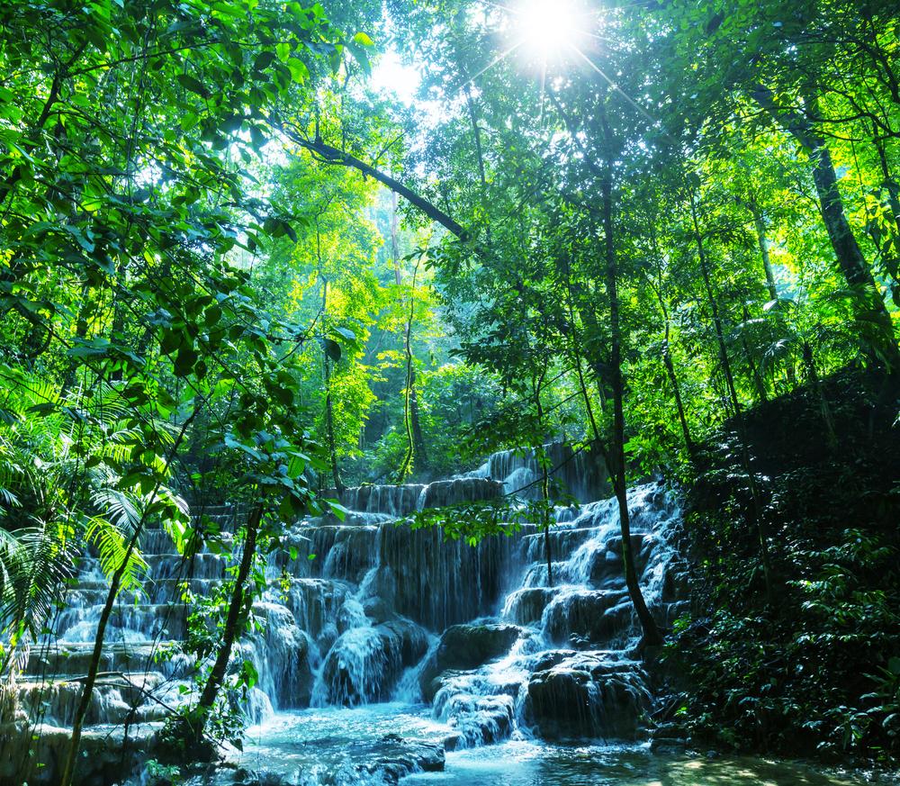 Llanos de Cortez Waterfall located in Costa Rica