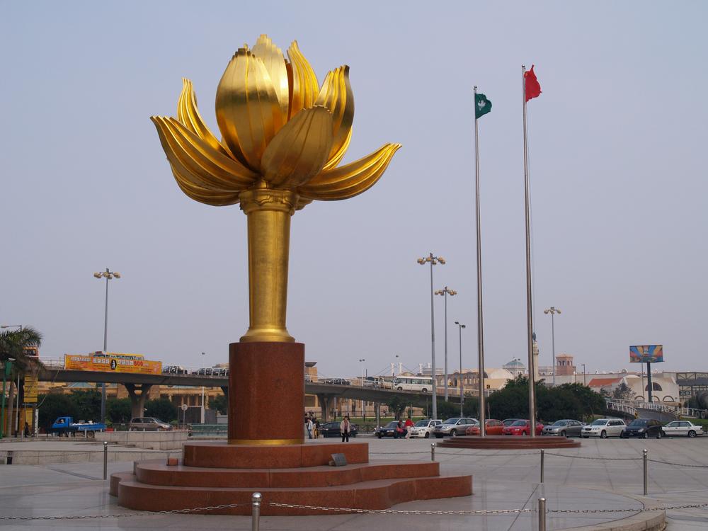 Lotus Flower Full Bloom Statue Macau