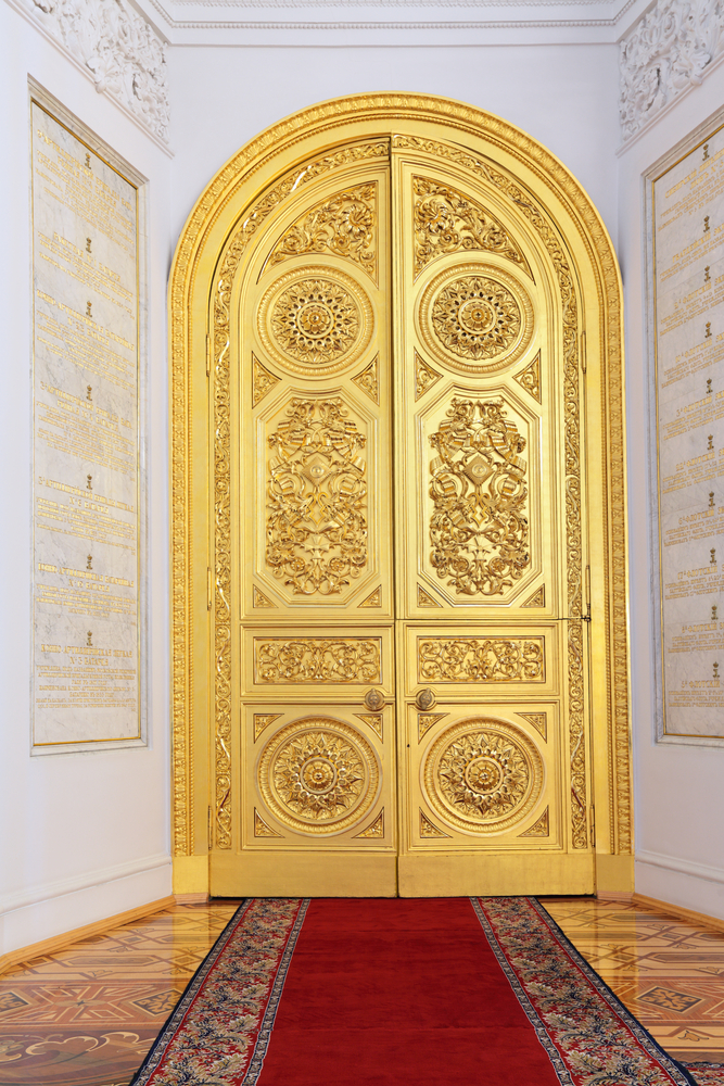 MOSCOW FEB 22 An interior view of the Grand Kremlin Palace is shown on Feb 22 2013 in Moscow