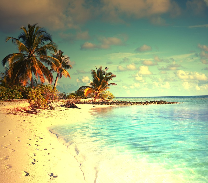 Maldives beachjpg