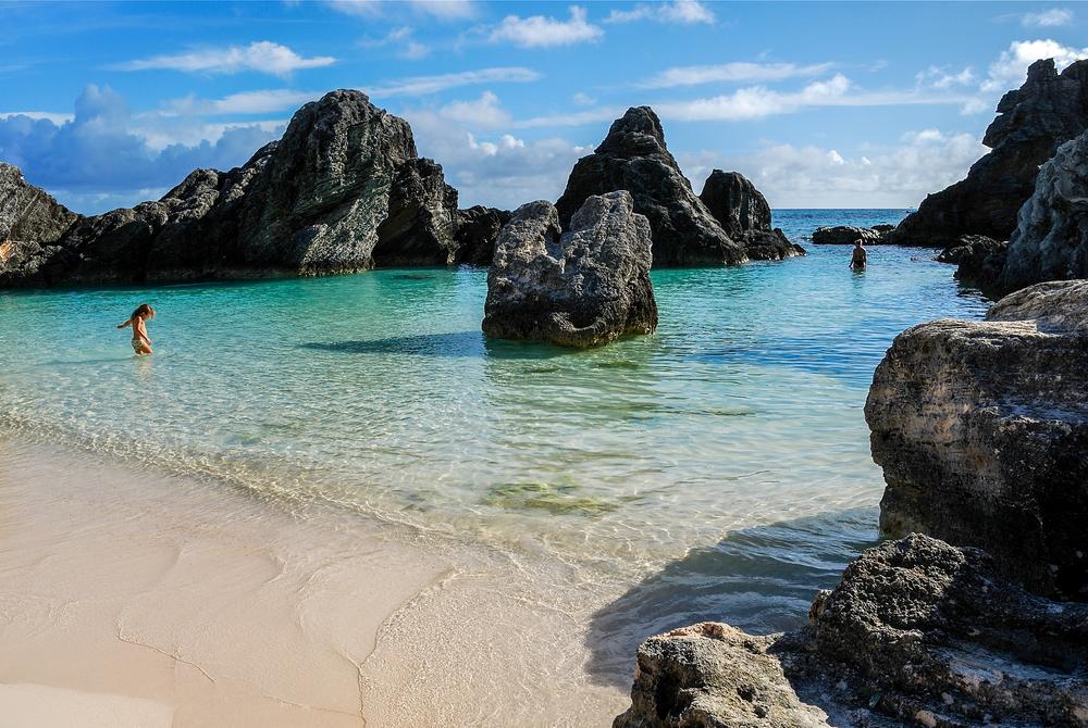 Mayas Cove Horseshoe Bay Beach Bermuda