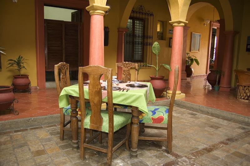 Mexican Restaurant in Chiapas Mexico