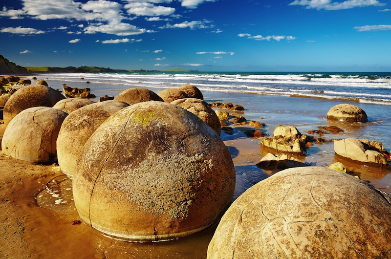 Moeraki Boulders South Island New Zealandjpg