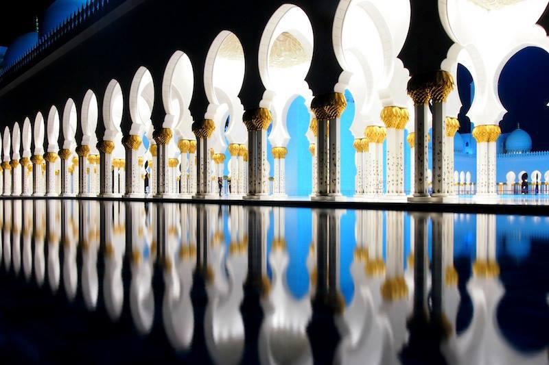 Moschea Sheikh9 Zayed Abu Dhabi