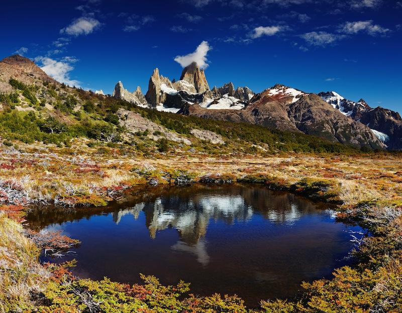 Mount Fitz Roy Los Glaciares National Park Patagonia Argentina