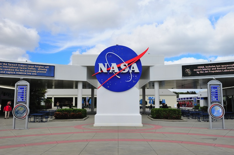 NASA in Kennedy Space Center on