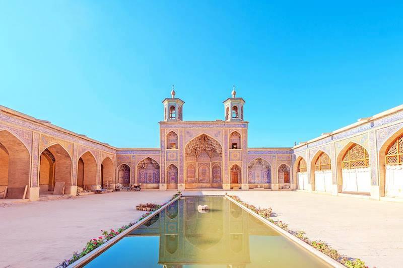 Nasir al Mulk Mosque Masjed e Naseer ol Molk Shiraz Iran