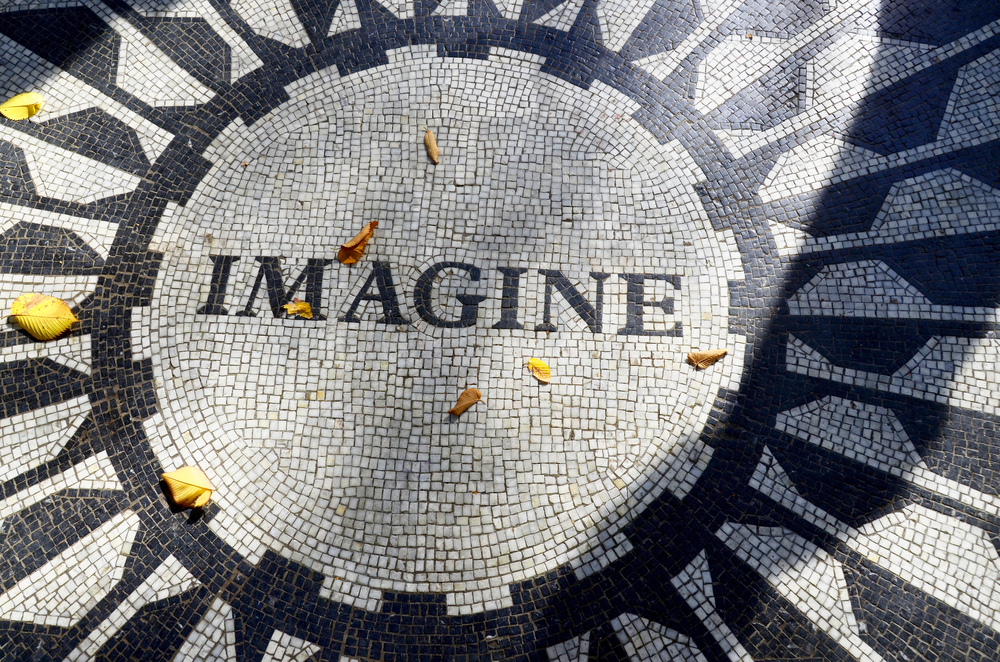 New York NY USA OCTOBER 28 Strawberry Fields is a 2