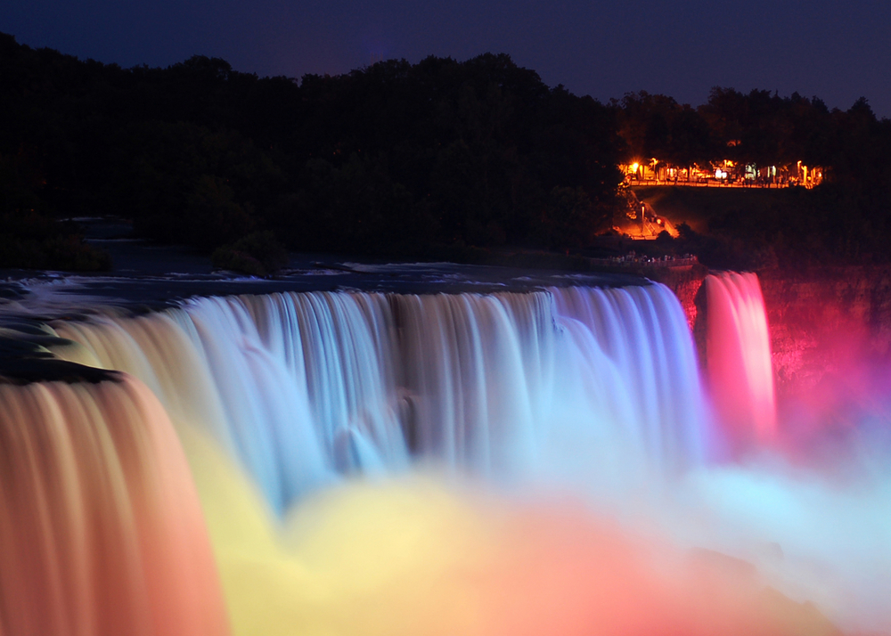 Niagara Falls at the night