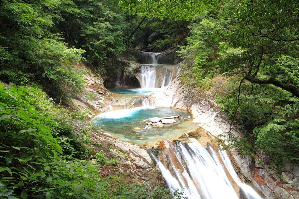 Nishizawa Valley Yamanashi Japan