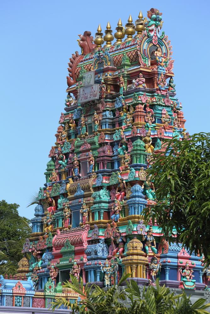 Old Hindu Temple Profile