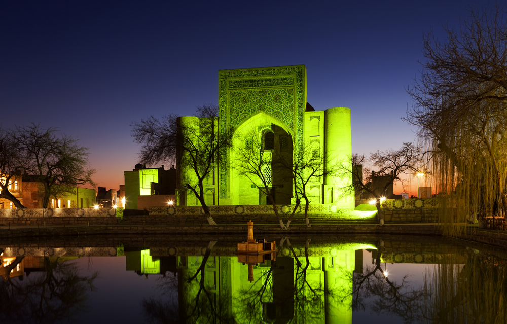 Old Madrassah in Bukhara city Uzbekistan