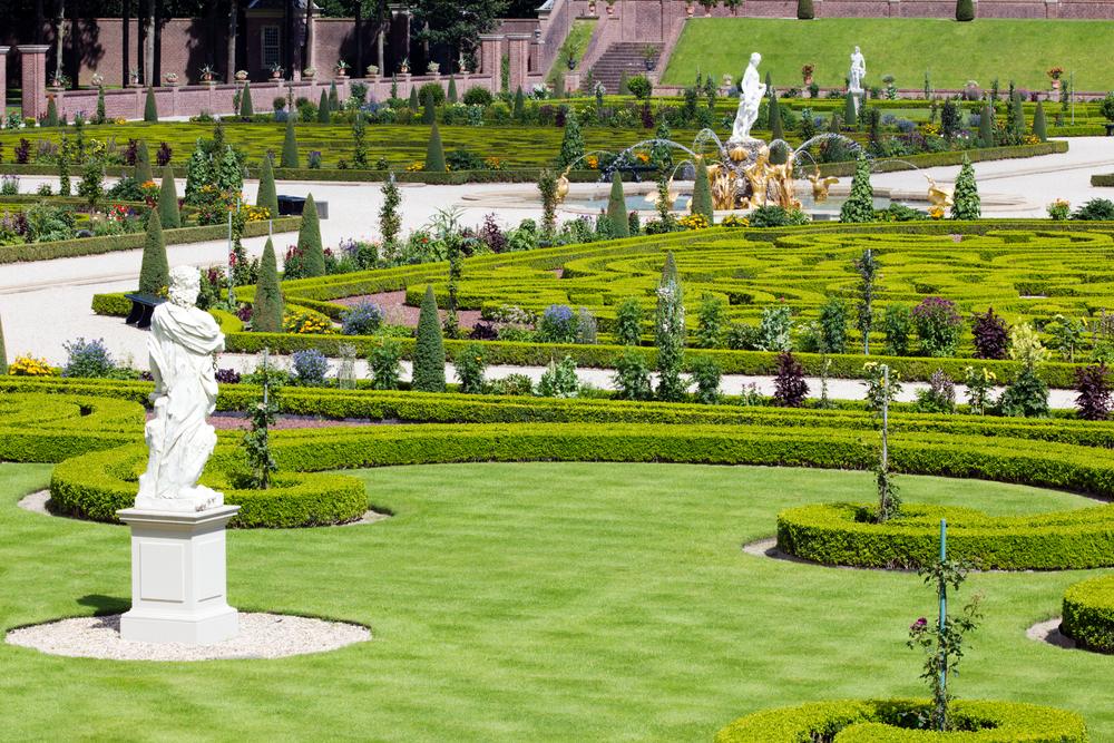 Palace het Loo garden
