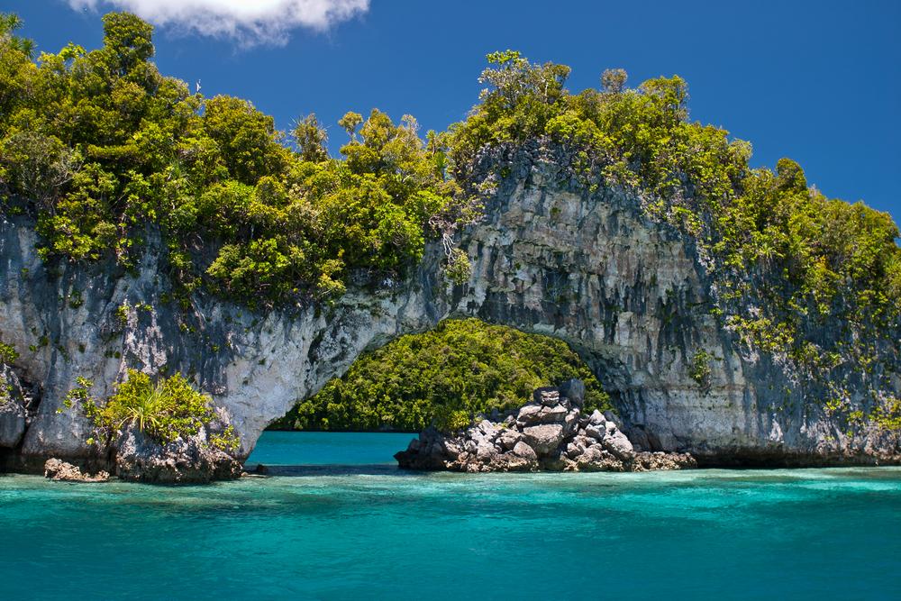 Palaus scenic Rock Islands