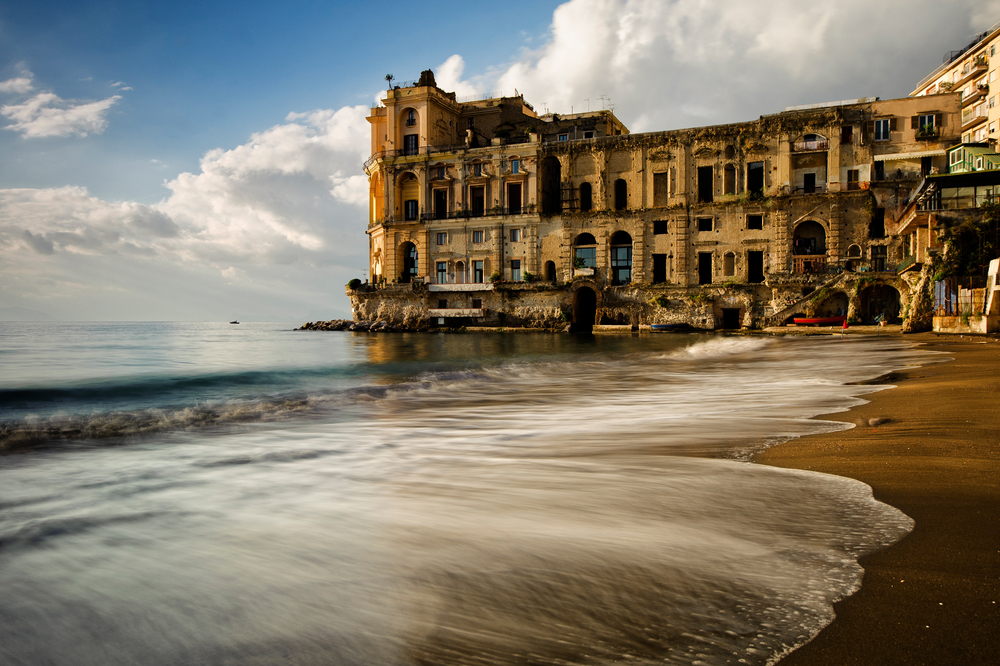 Palazzo DonnAnna is a famous and historic residence in Naples downtown 8