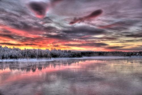 Paysage de la Laponie finlandaise 8