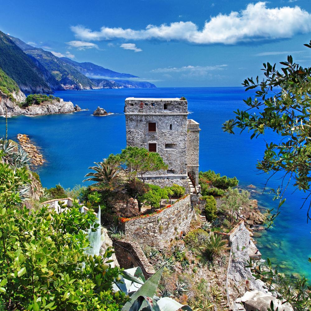 Pictorial Italian coast Monterosso