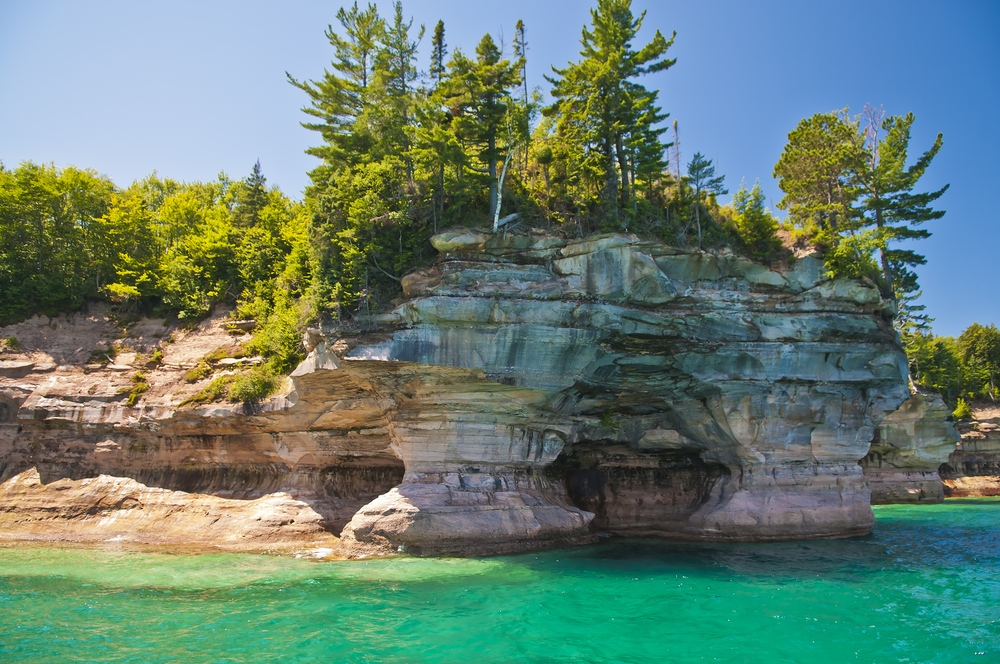 Pictured Rock National9 Lake Shore Michigan State