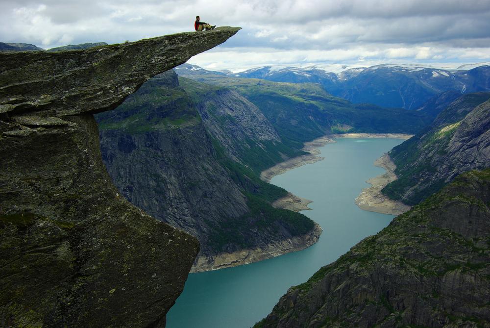 Picturesque Norway landscape