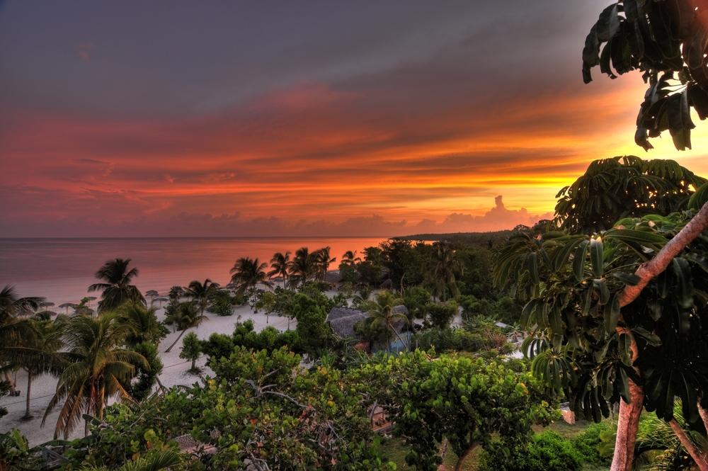 Playa Esmeralda in Holguin Cuba