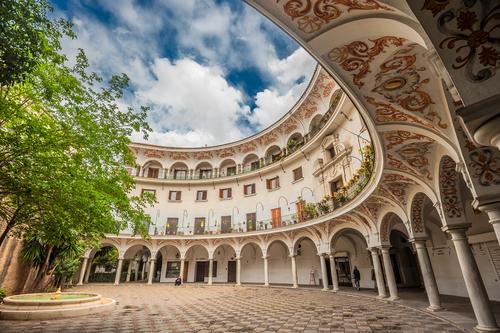 Plaza del Cabildo Seville Spain