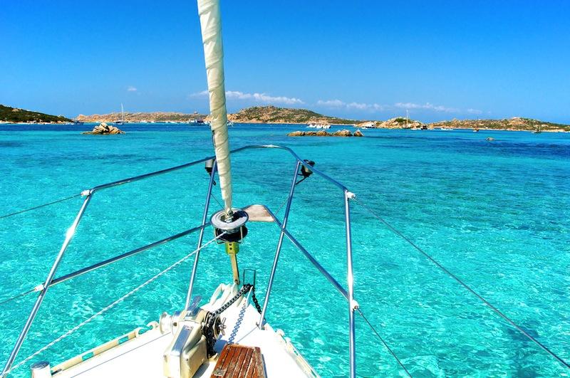 Porto della Madonna spiaggia rosa Sardinia Sardegna