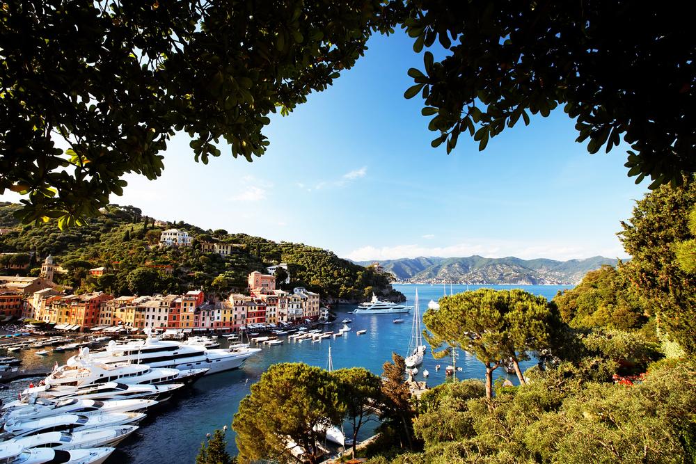 Portofino village Ligurian Coast Italy