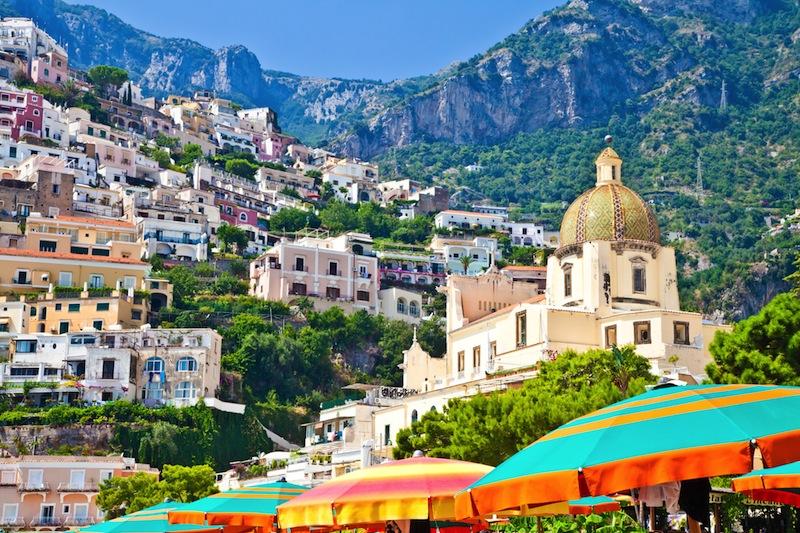 Positano is a village and comune on the Amalfi Coast Costiera Amalfitana