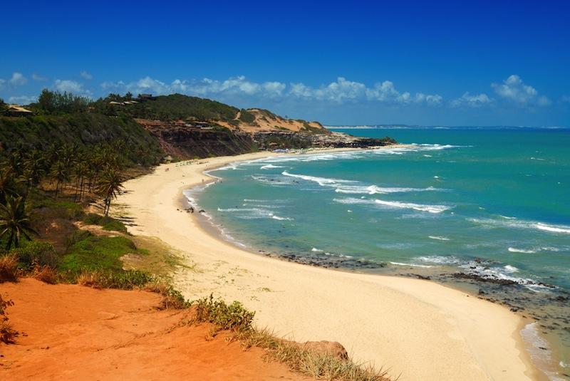 Praia do Amor near Pipa Brazil