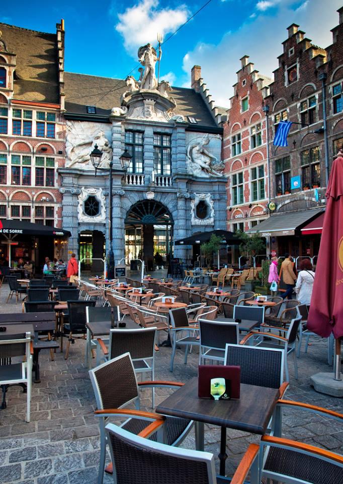Pranzo a Ghent buon appetito Belgio