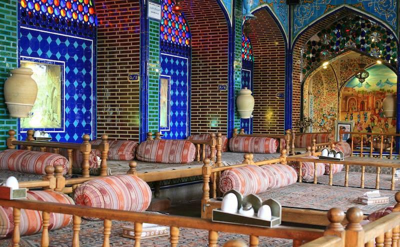 Pranzo in Iran accomodatevi
