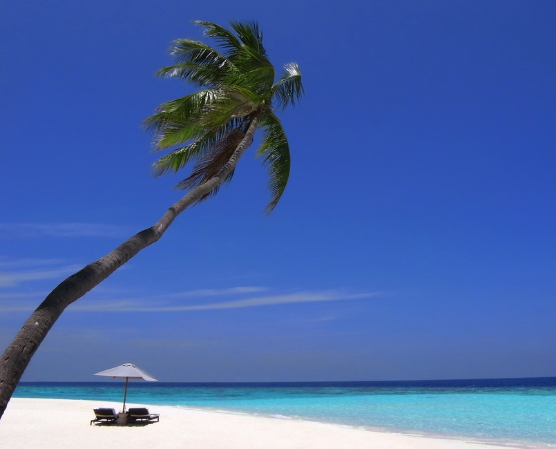 Puka shell beach at Southern part of Boracay island Philippines 5