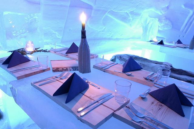 Québec propone il suo famoso Ice Hotel