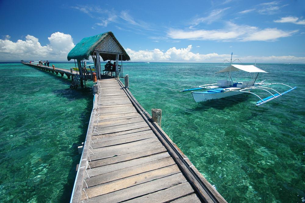 Relaxation on Bohol Beach
