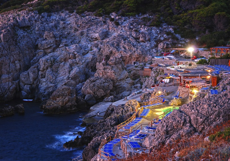 Resort directly on the seaside in Capri island Italy